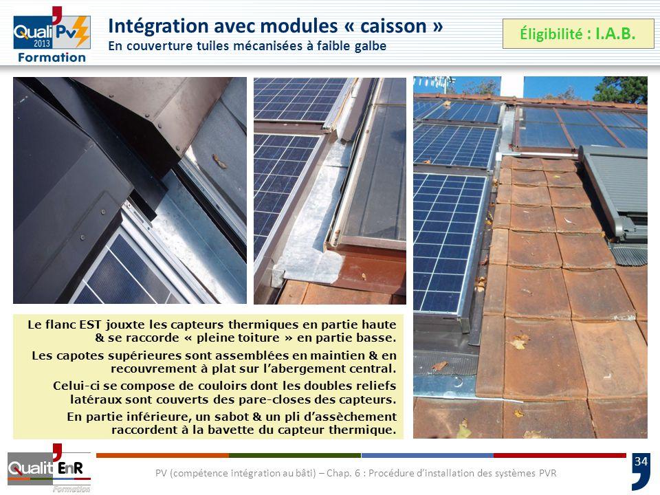 34 PV (compétence intégration au bâti) – Chap.