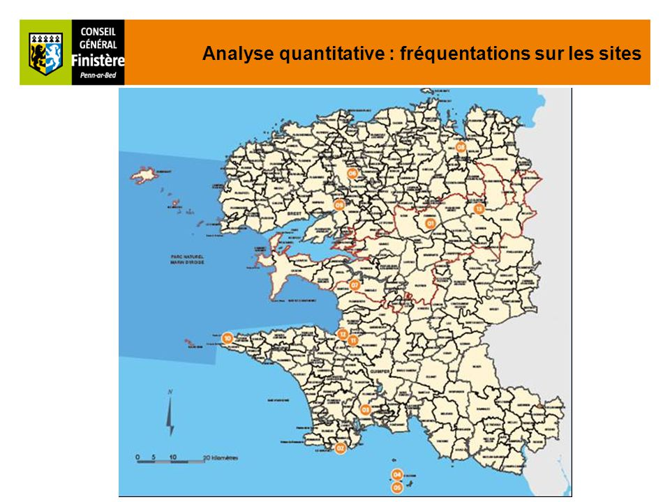 Analyse quantitative : fréquentations sur les sites