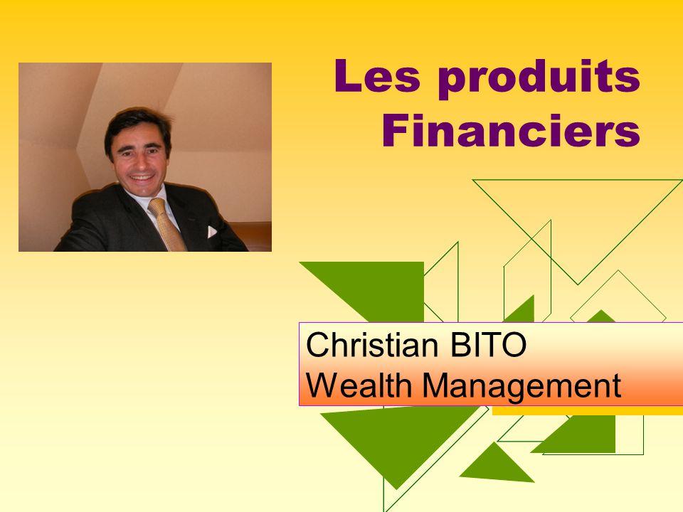 Wealth Management FING31420 Christian Bito Préalable: Les mesures de performance A.