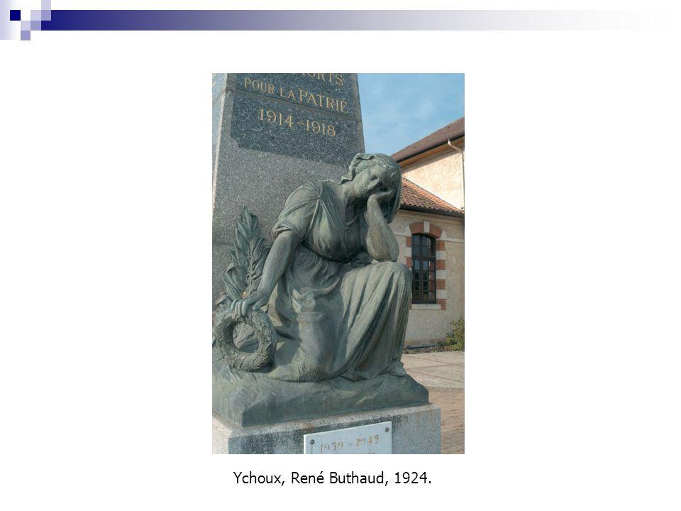 Ychoux, René Buthaud, 1924.