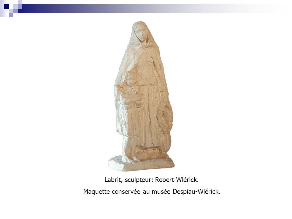 Labrit, sculpteur: Robert Wlérick. Maquette conservée au musée Despiau-Wlérick.