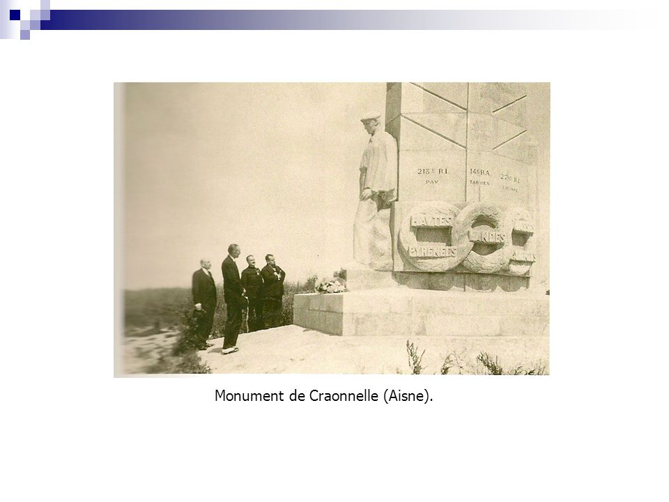 Monument de Craonnelle (Aisne).