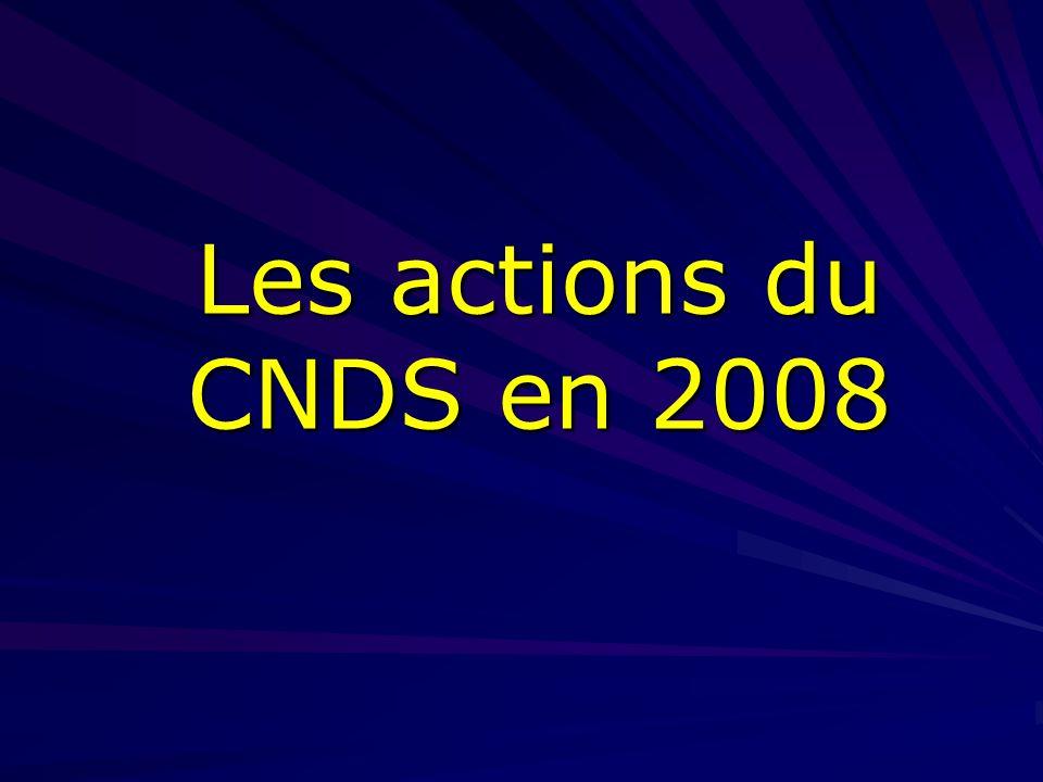 Sommaire 1.Orientations générales fixées au CNDS pour 2008 2.