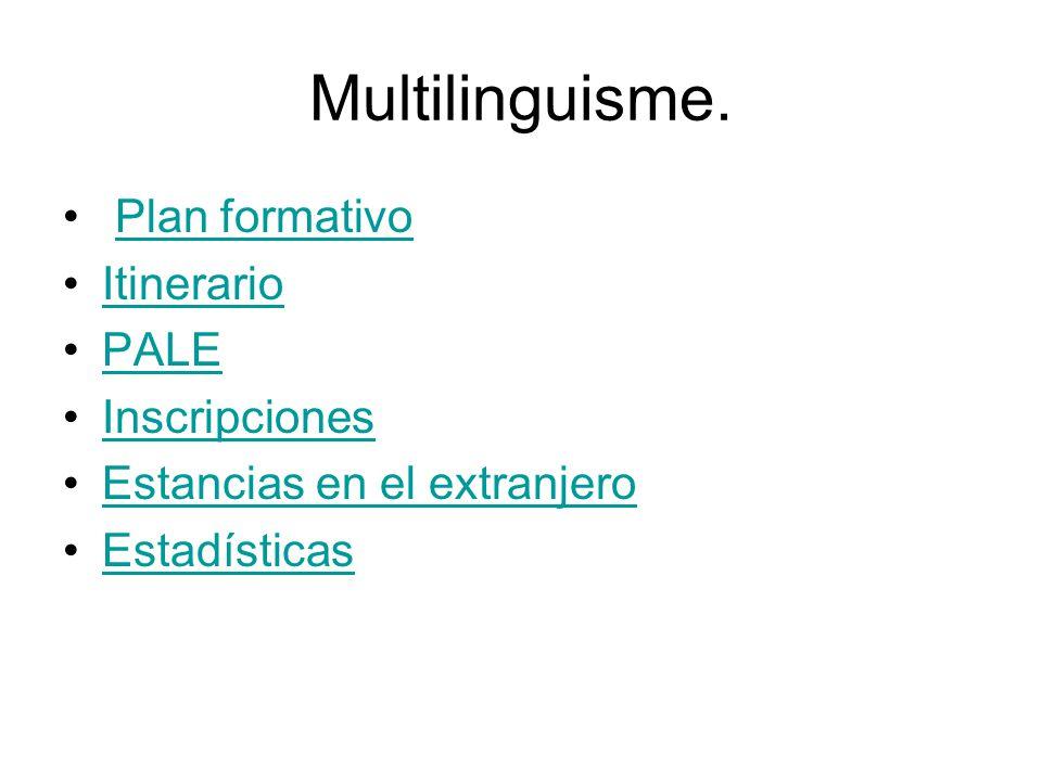 Multilinguisme.
