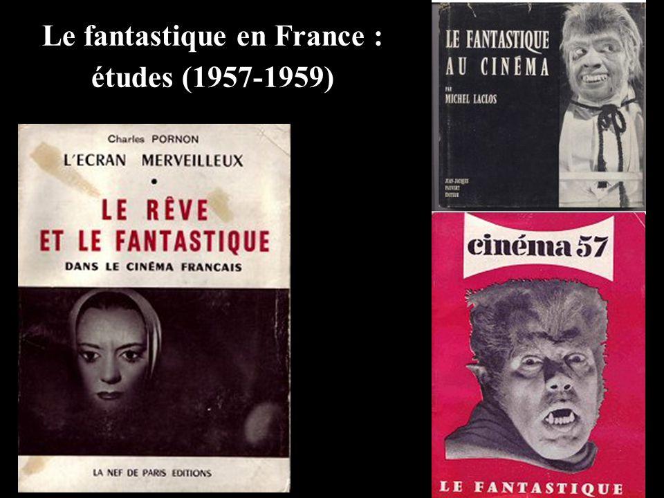 Le fantastique en France : études (1957-1959)