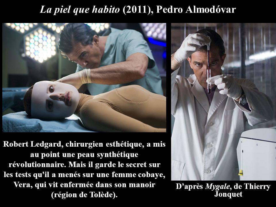 La piel que habito (2011), Pedro Almodóvar Robert Ledgard, chirurgien esthétique, a mis au point une peau synthétique révolutionnaire.