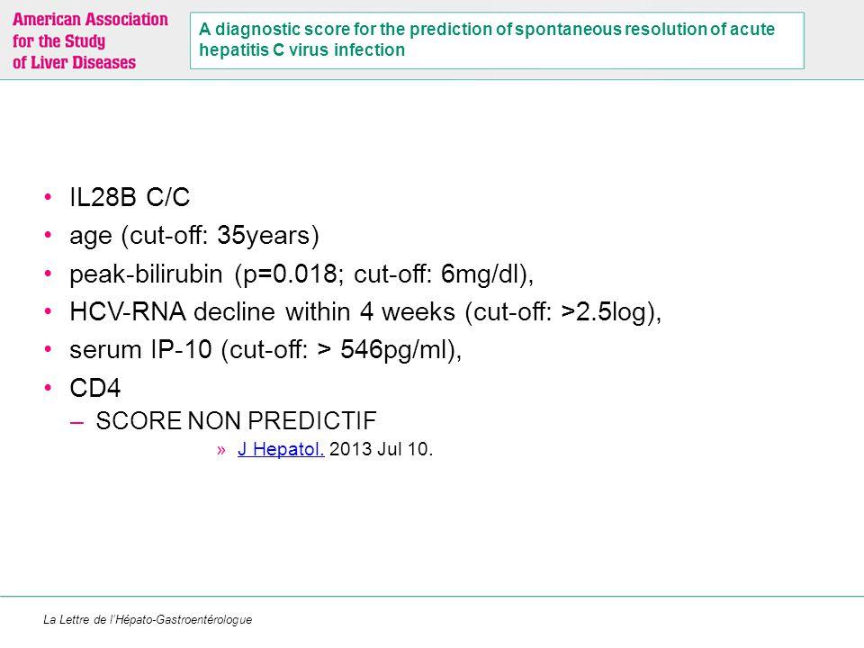 La Lettre de l'Hépato-Gastroentérologue Boceprevir + PR chez les patients VIH/VHC G1 en échec de traitement par PR (ANRS-HC27) (1) Caractéristiques de la cohorten (%)/médiane Age Hommes IMC ≥ 25 kg/m 2 49 48 (75 %) 18 (28 %) Taux de CD4 ARN VIH < 50 c/ml 728 (527-923) 61 (95,3 %) VHC- G1a ARN VHC > 800 000 UI/ml 50 (78 %) 48 (75 %) F0-F2 F3 F4 39 (61 %) 14 (22 %) 11 (17 %) Rechuteurs Répondeurs partiels Répondeurs nuls Echappeurs 20 (31 %) 18 (28 %) 21 (33 %) 5 (8 %)