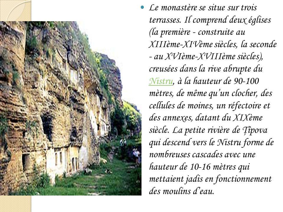 Le monastère se situe sur trois terrasses. Il comprend deux églises (la première - construite au XIIIème-XIVème siècles, la seconde - au XVIème-XVIIIè