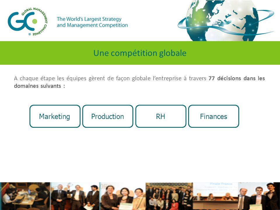 De nouveaux critères pour l'édition 2013-2014 Lire la vidéo  Empreinte carbone  Sous-traitance de la production  Formation professionnelle  Encadrement du financement bancaire  Financement par emprunts à long terme Critère pour départager les finalistes :  Retour sur investissements