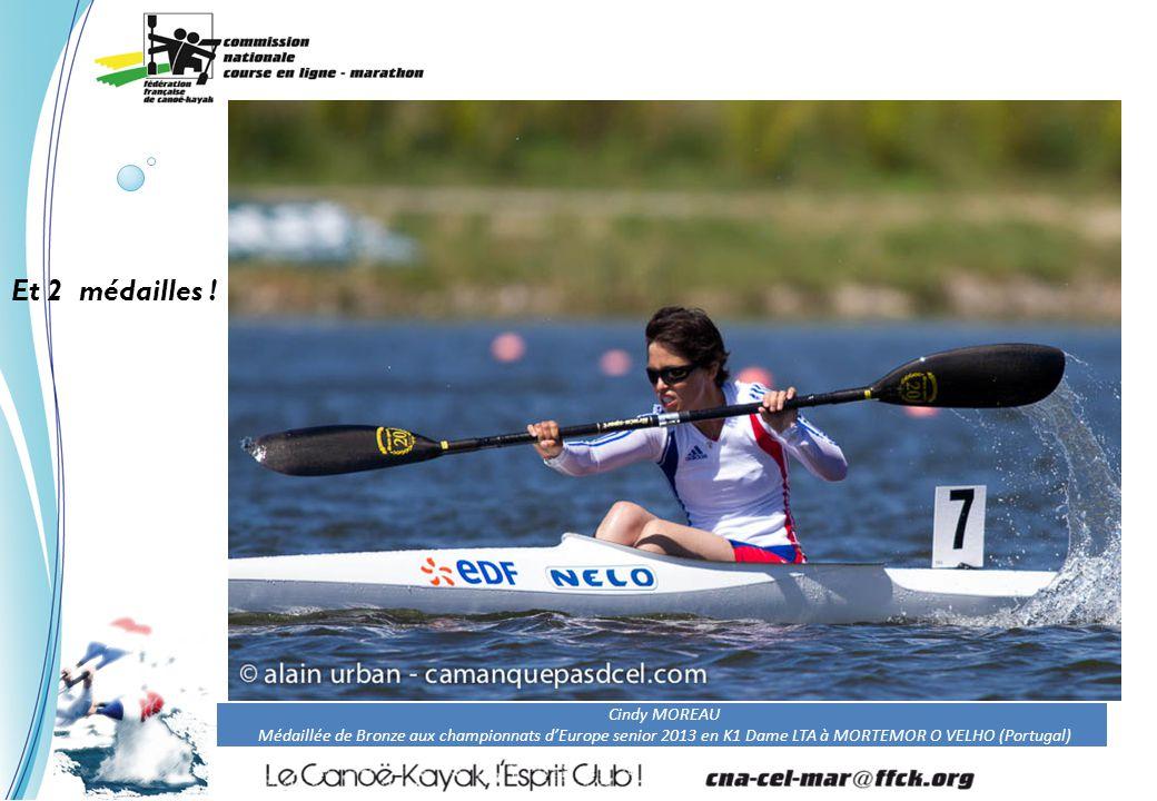 Ronan BERNARD Médaillée de Bronze aux championnats d'Europe senior 2013 en en V1 TA Et 3 médailles !