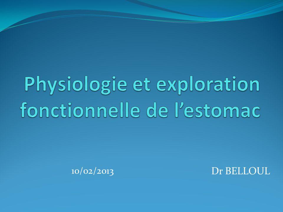Dr BELLOUL 10/02/2013