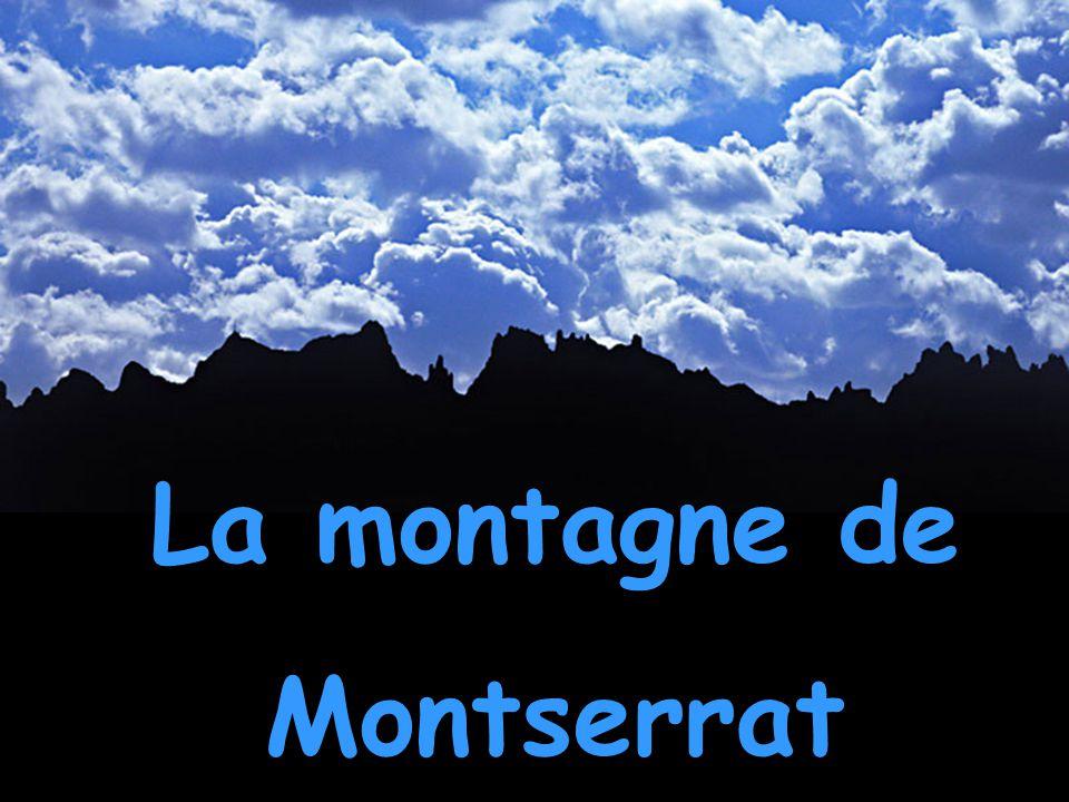 La montagne de Montserrat