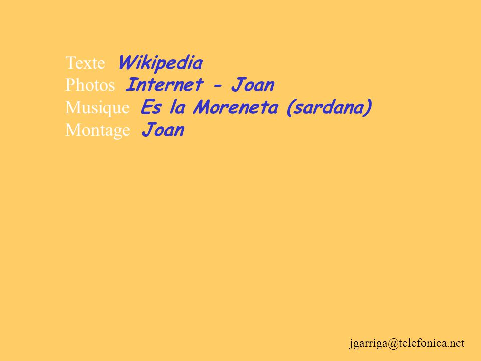 Sant Jordi (Josep Mª Subirachs) ES LA MORENETA (Sardana d'Antoni Carcellé i Tosca) És la Moreneta la fe del poble català, l'estel del seu camí, l'afan