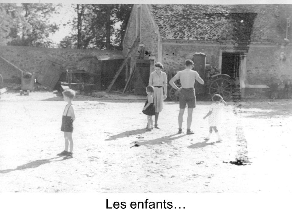 Les enfants…