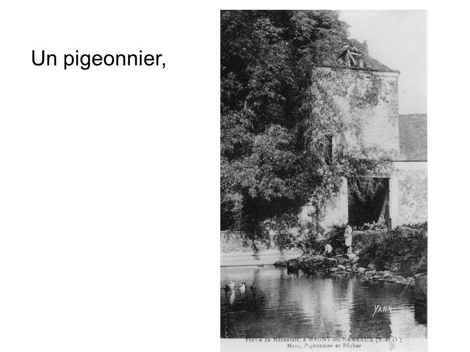 Un pigeonnier,