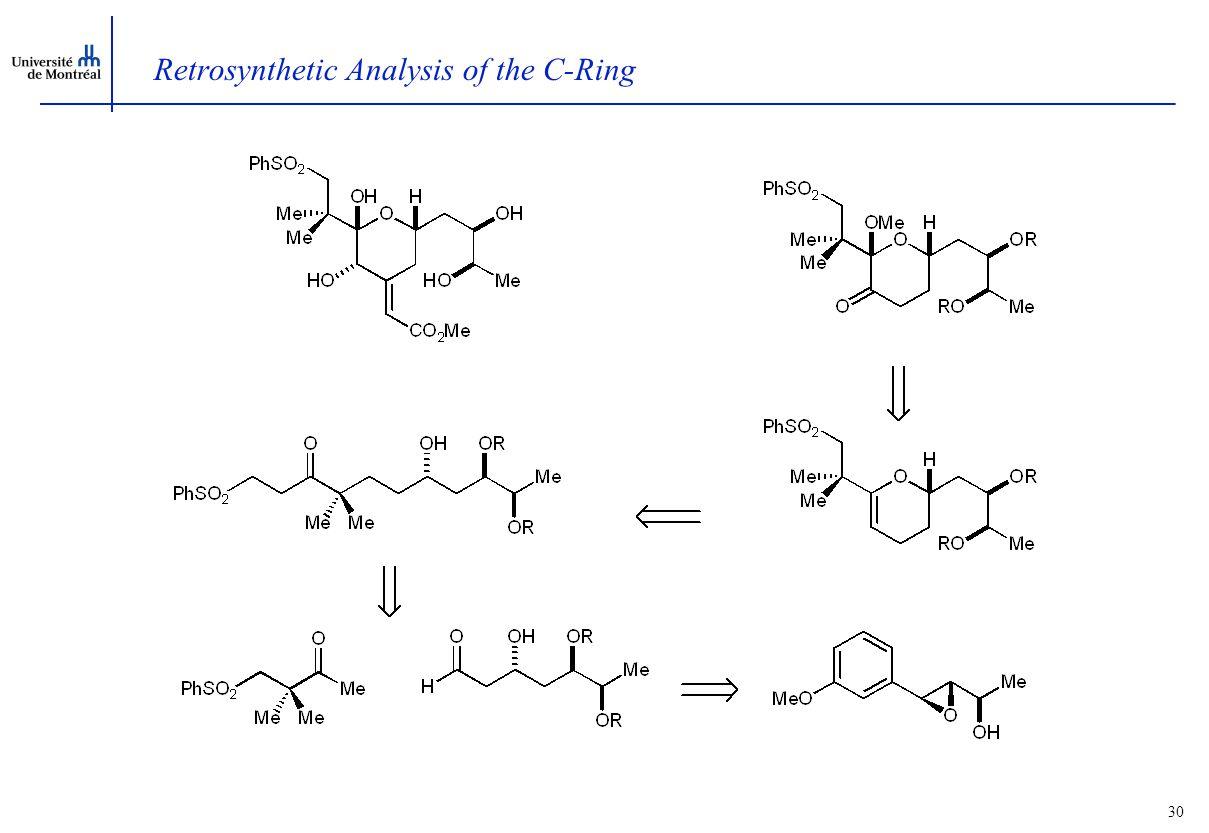29 Retrosynthetic Analysis