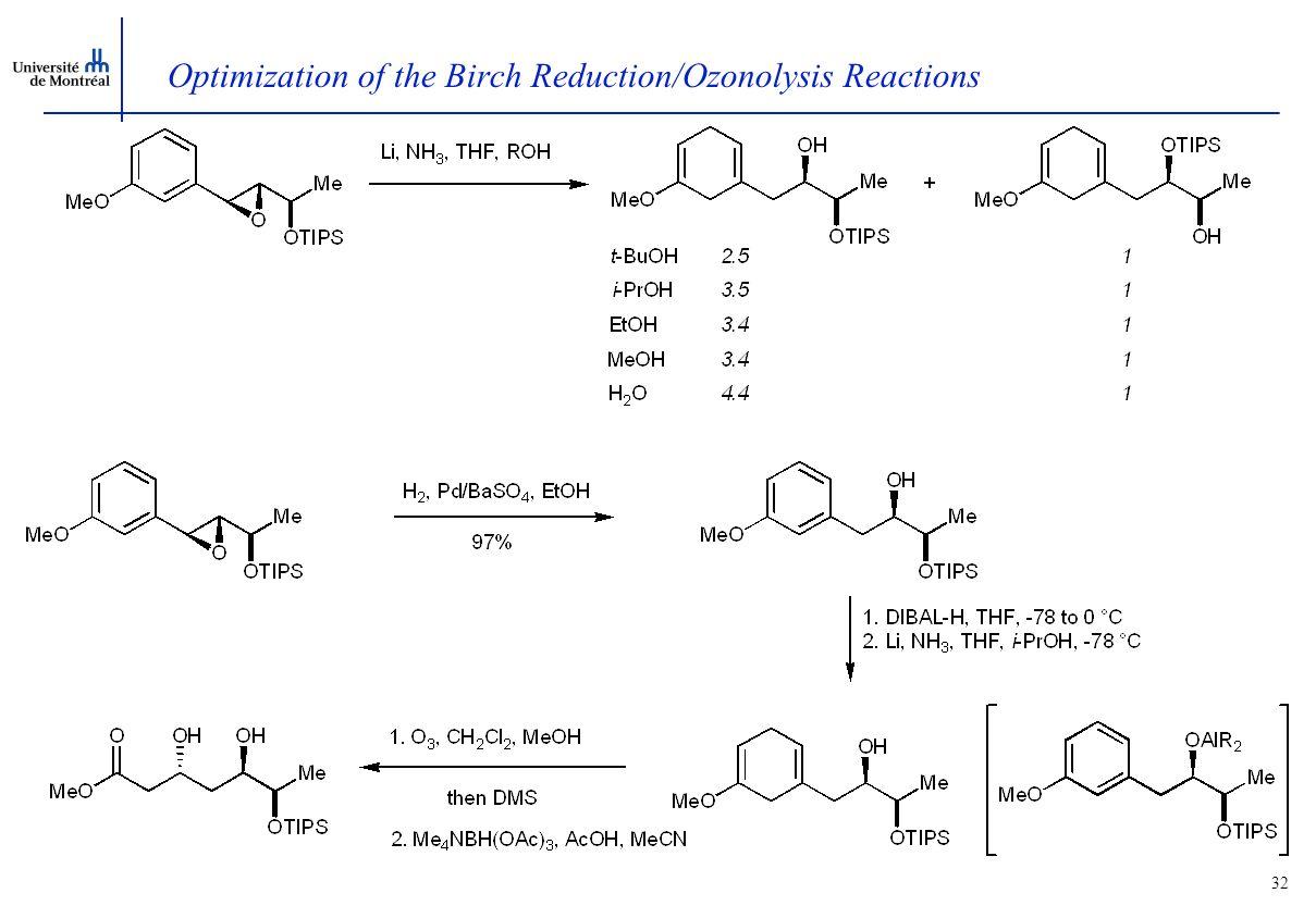 31 Elaboration of the Synthetic Methodology