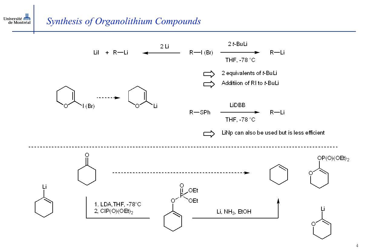 3  -Lithio Vinylether anions