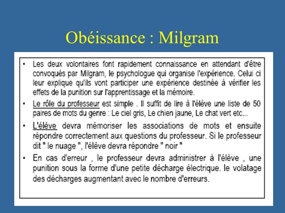 225 Obéissance : Milgram