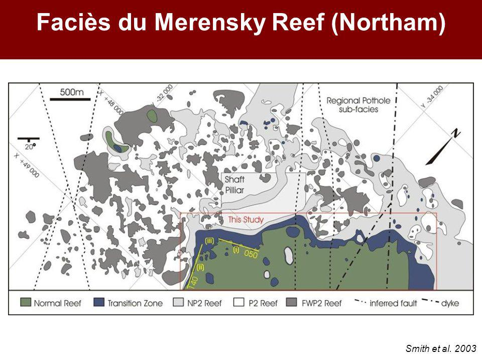 Faciès du Merensky Reef (Northam) Smith et al. 2003