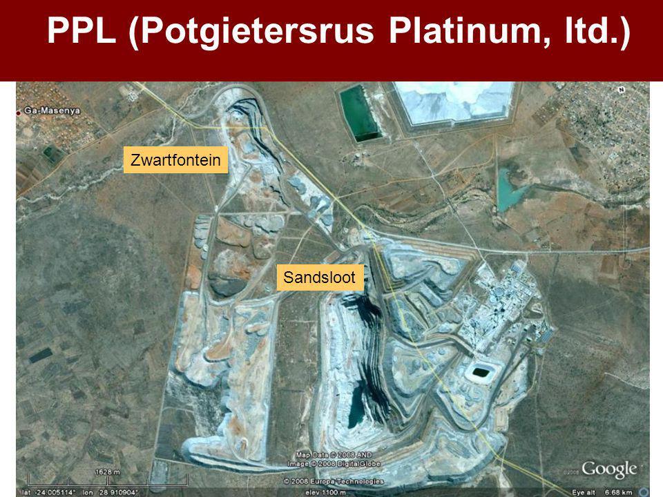 PPL (Potgietersrus Platinum, ltd.) Zwartfontein Sandsloot