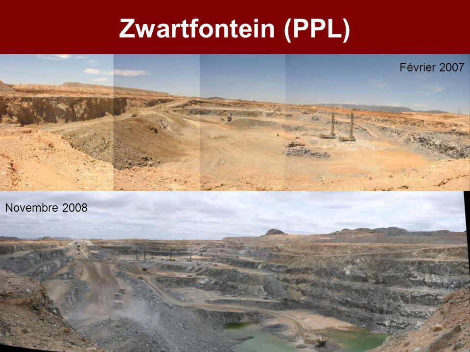 Zwartfontein (PPL) Février 2007 Novembre 2008