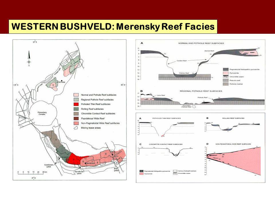 WESTERN BUSHVELD: Merensky Reef Facies