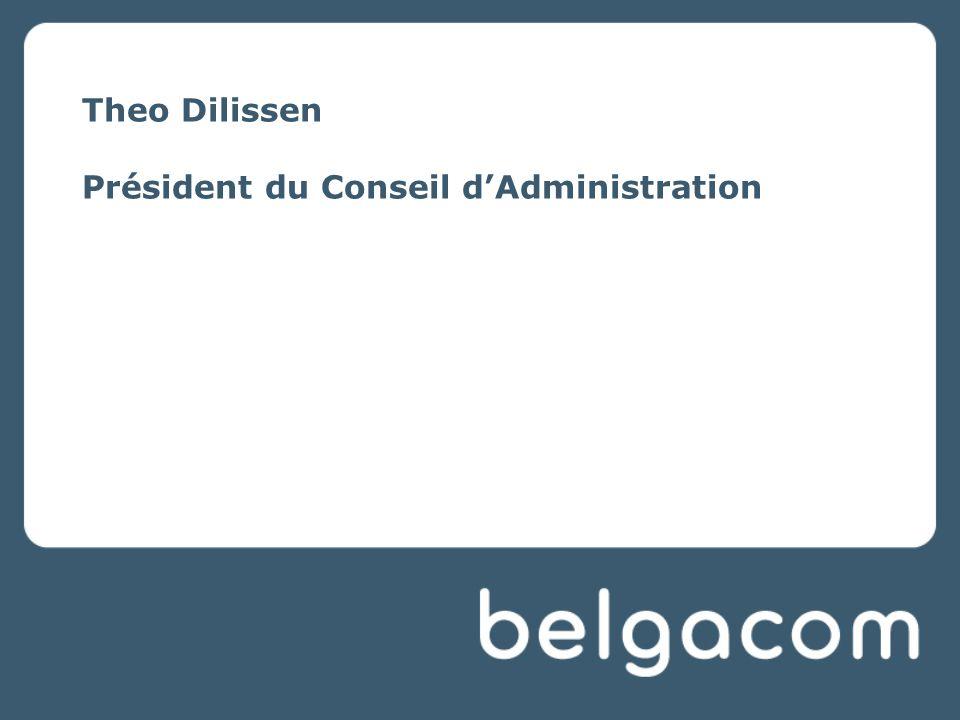 Theo Dilissen Président du Conseil d'Administration