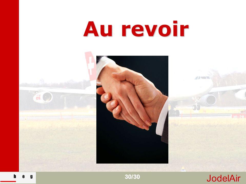 JodelAir 30/30 Au revoir