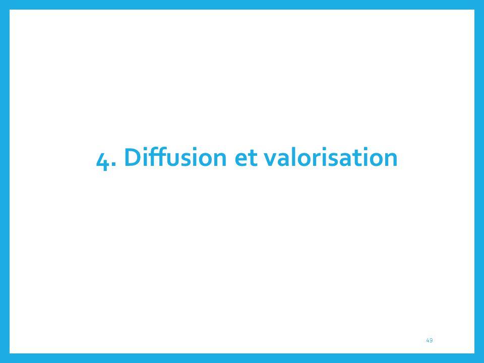 4. Diffusion et valorisation 49