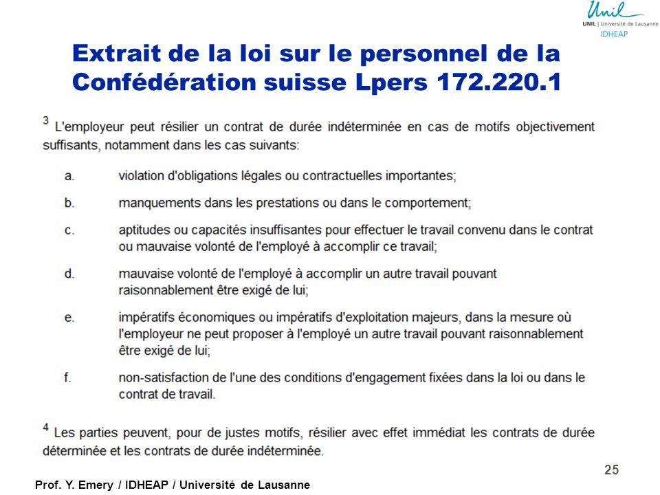 Prof. Y. Emery / IDHEAP / Université de Lausanne Pourquoi évaluer (suite) ? ImpliciteExplicite InformelleFormelle Empirique Organisée SpontanéeProgram