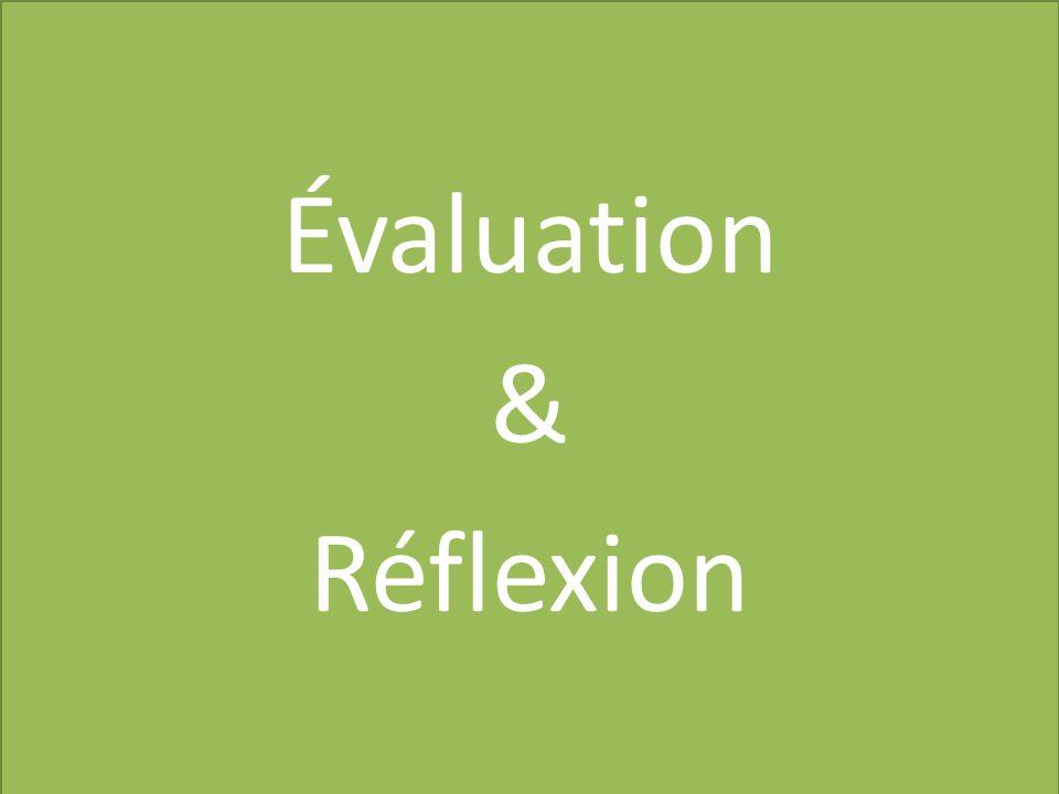 Évaluation & Réflexion
