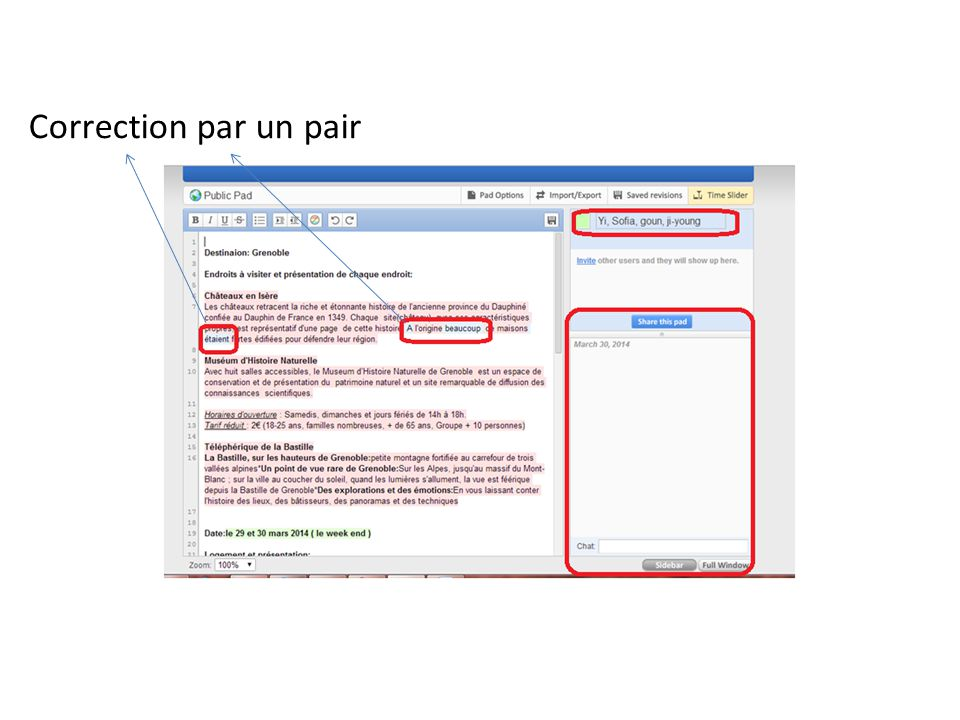 Correction par un pair