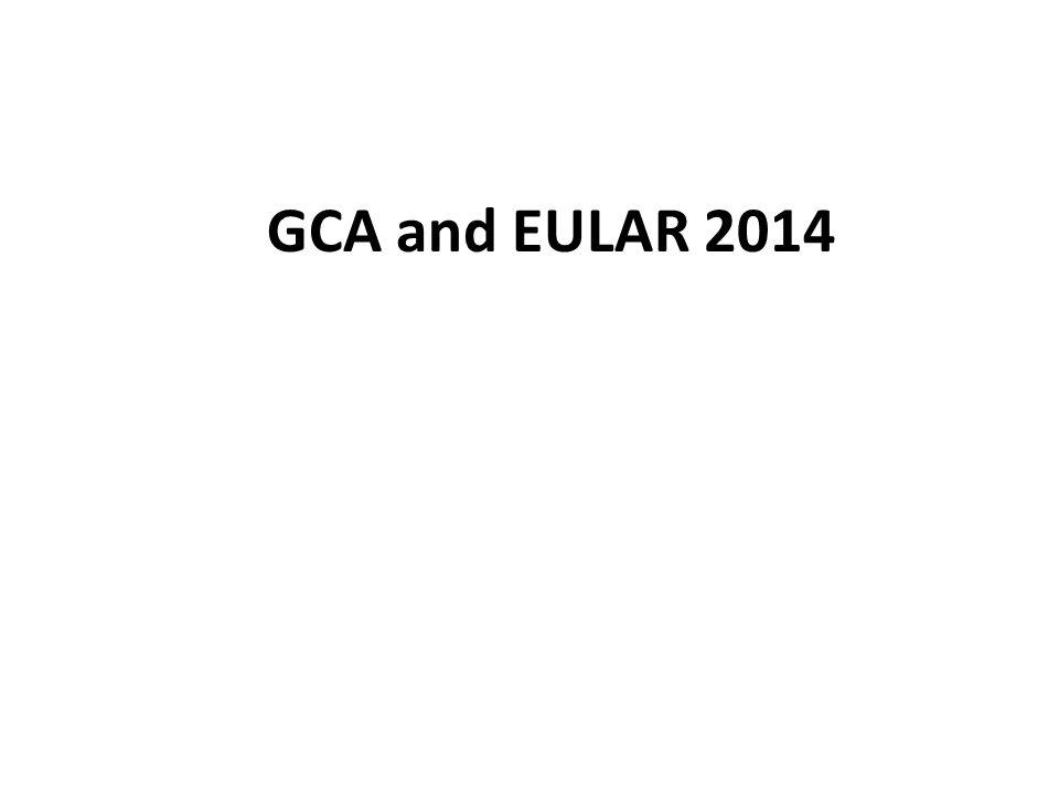 GCA and EULAR 2014
