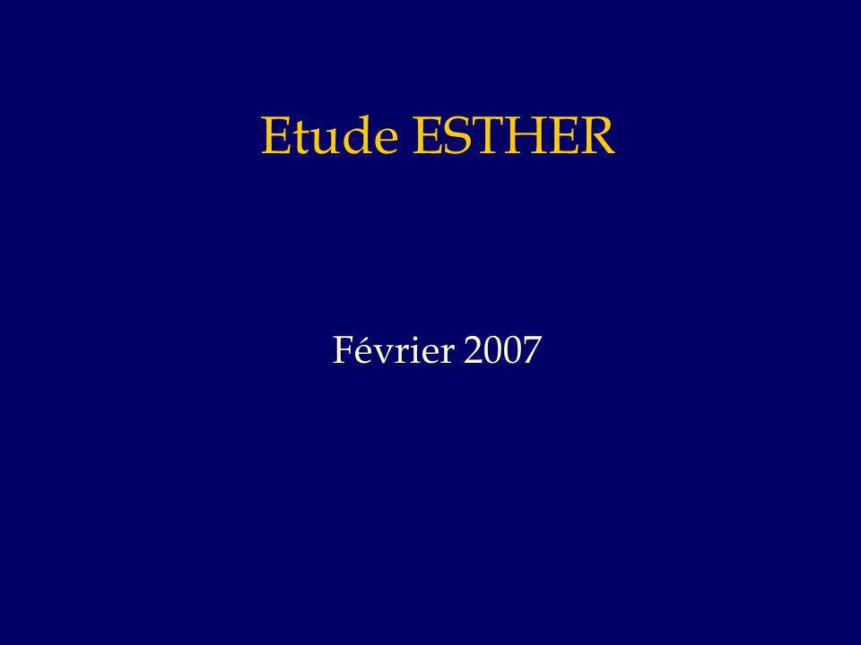 Etude ESTHER Février 2007
