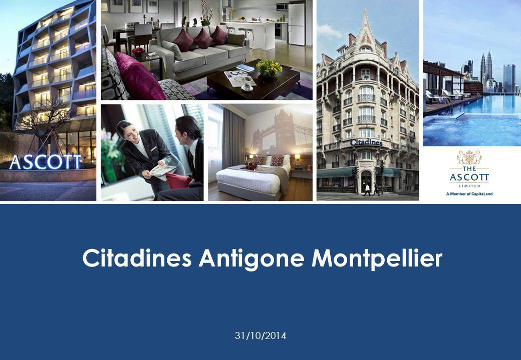 Citadines Antigone Montpellier 31/10/2014