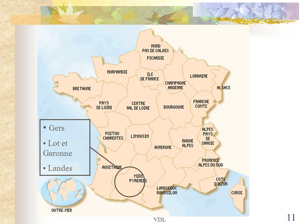 VDL 11 Gers Lot et Garonne Landes