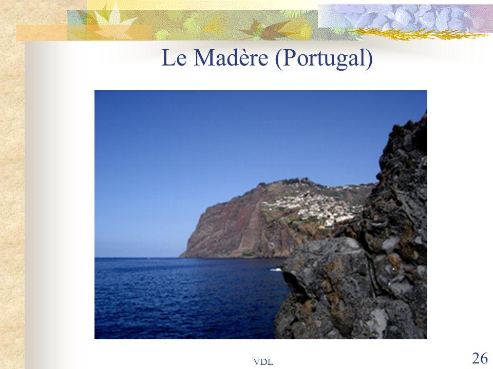 VDL 26 Le Madère (Portugal)