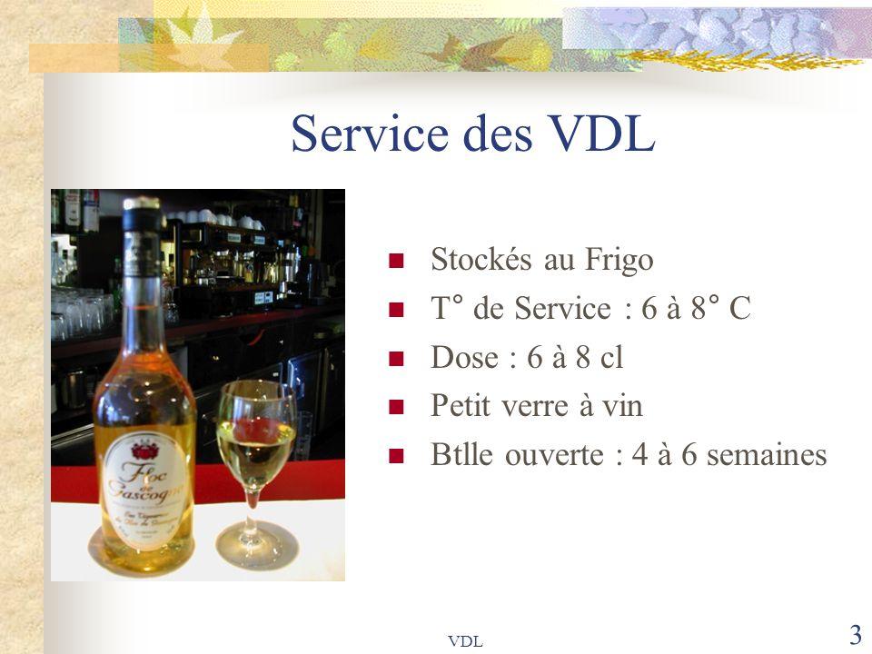 VDL 24 Le Marsala (Italie) Nom d'une petite ville de Sicile Assemblage du vin blanc Passito (D.O.C) et de l'alcool Inzolia (maximum 15%) Cépages : Catarroto et Grillo Vieillit 2 à 5 ans et pour les meilleurs selon la « Solera » M.