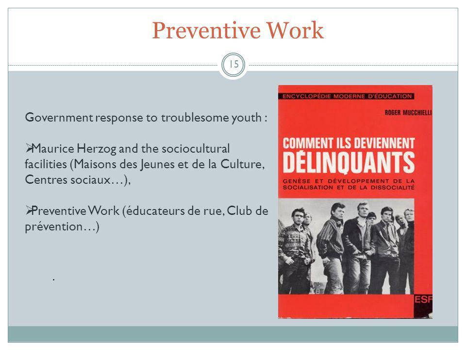 Preventive Work 15.