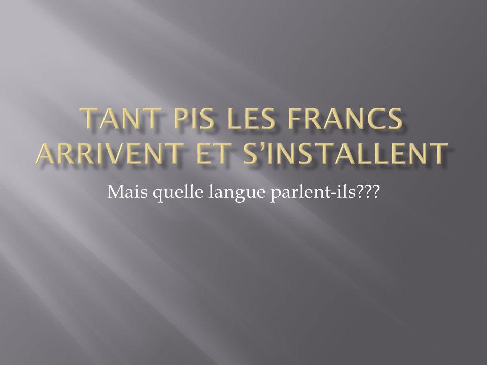 Mais quelle langue parlent-ils???