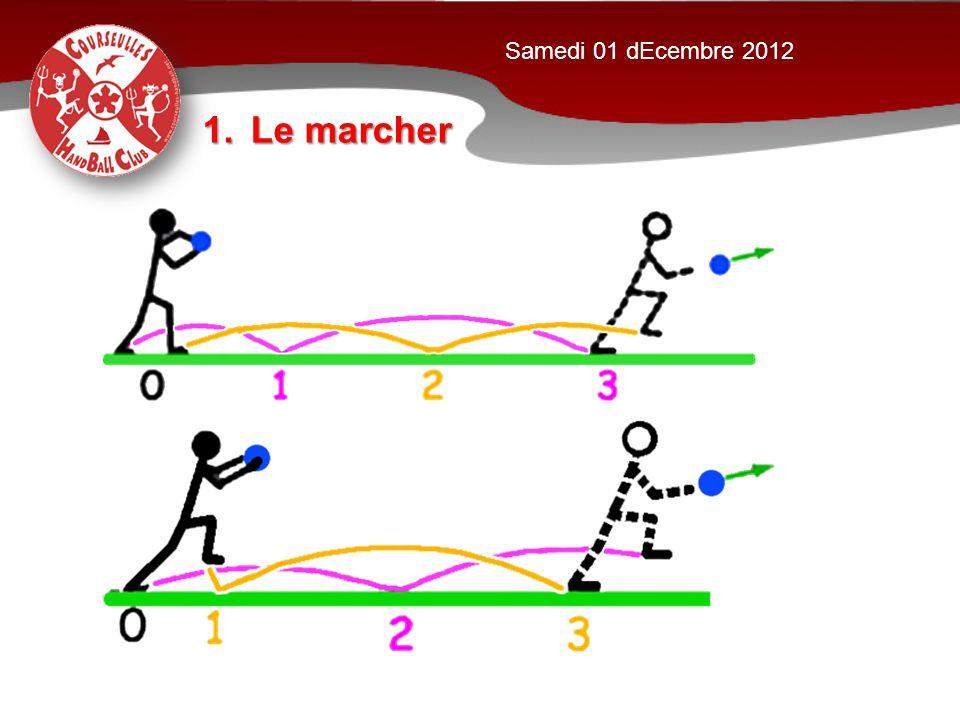 1.Le marcher Samedi 01 dEcembre 2012