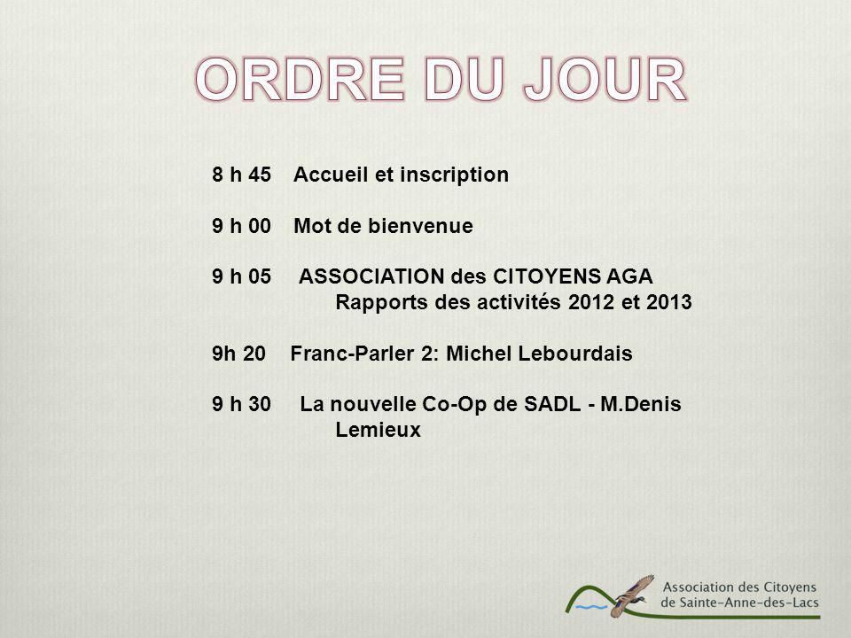 9 h 40 Club de Plein Air: M.Jean Marie Falquet 9h 50 Le groupe Hélios Horticulture: M.