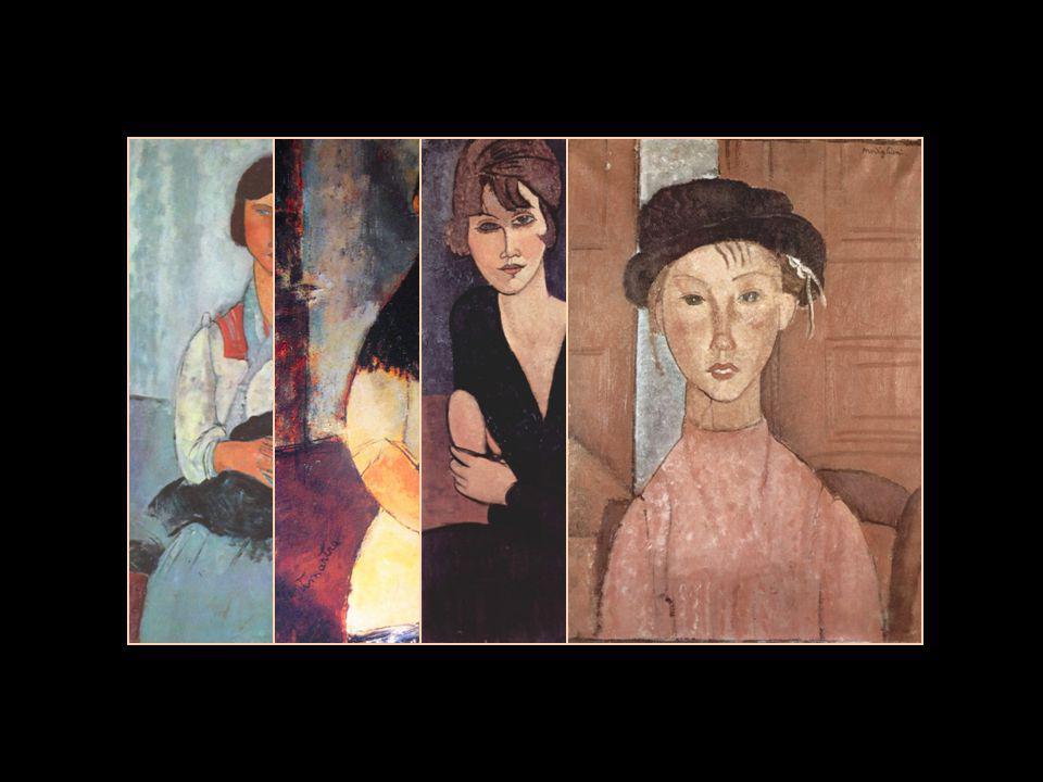 Chaim Soutine Paul GuillaumeJean Cocteau Modi était très demandé comme portraitiste, et il fit le portrait de nombreux artistes, écrivains et dealers de la mouvance de la bohême parisienne.