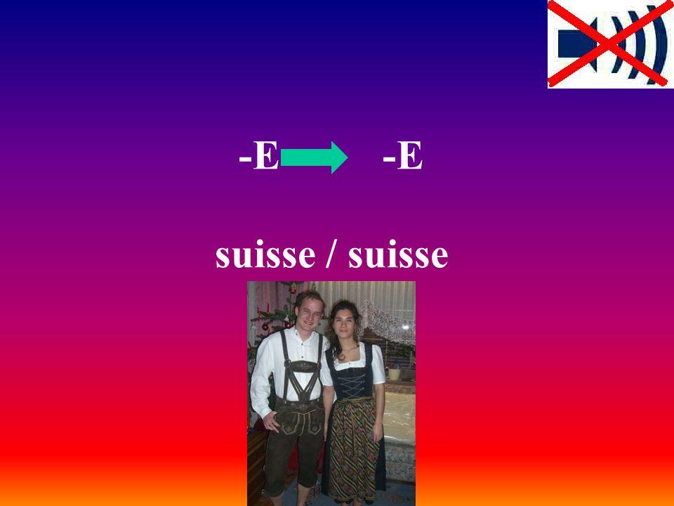 -E -E suisse / suisse