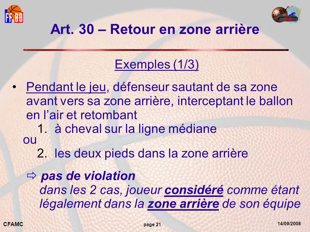 14/09/2008 CFAMC page 21 Art.