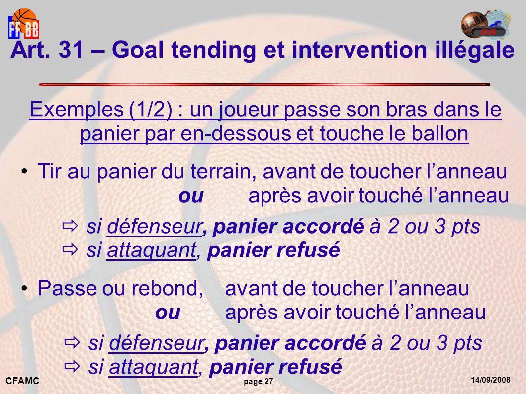 14/09/2008 CFAMC page 27 Art.
