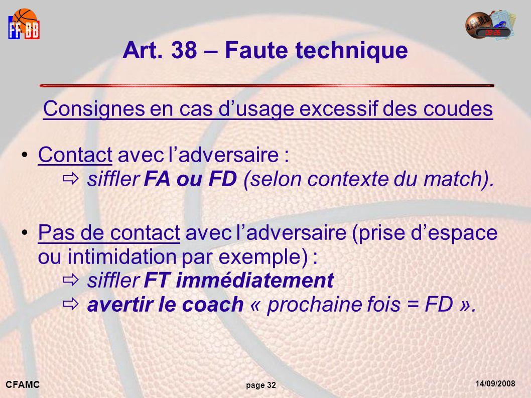 14/09/2008 CFAMC page 32 Art.