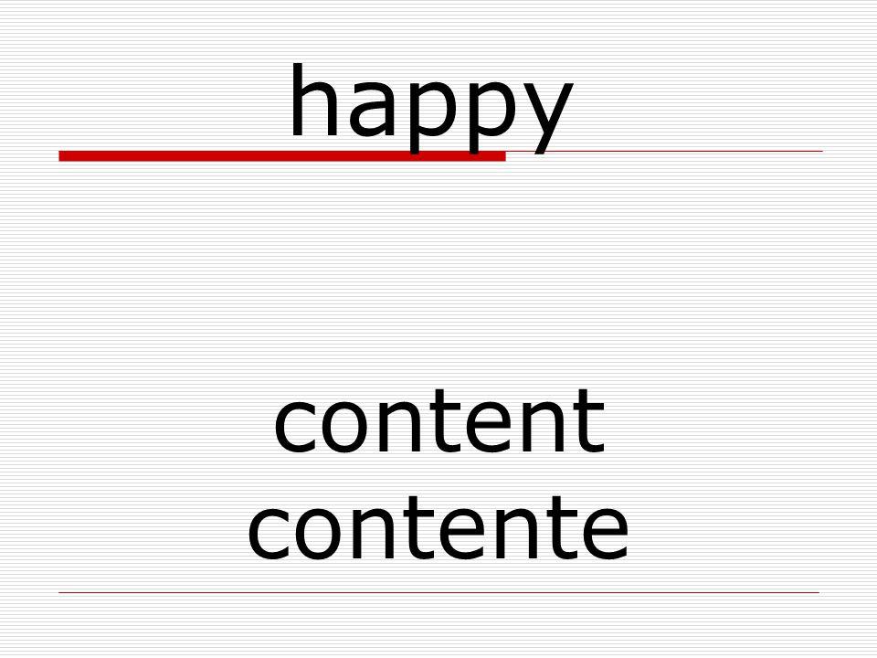 content contente happy