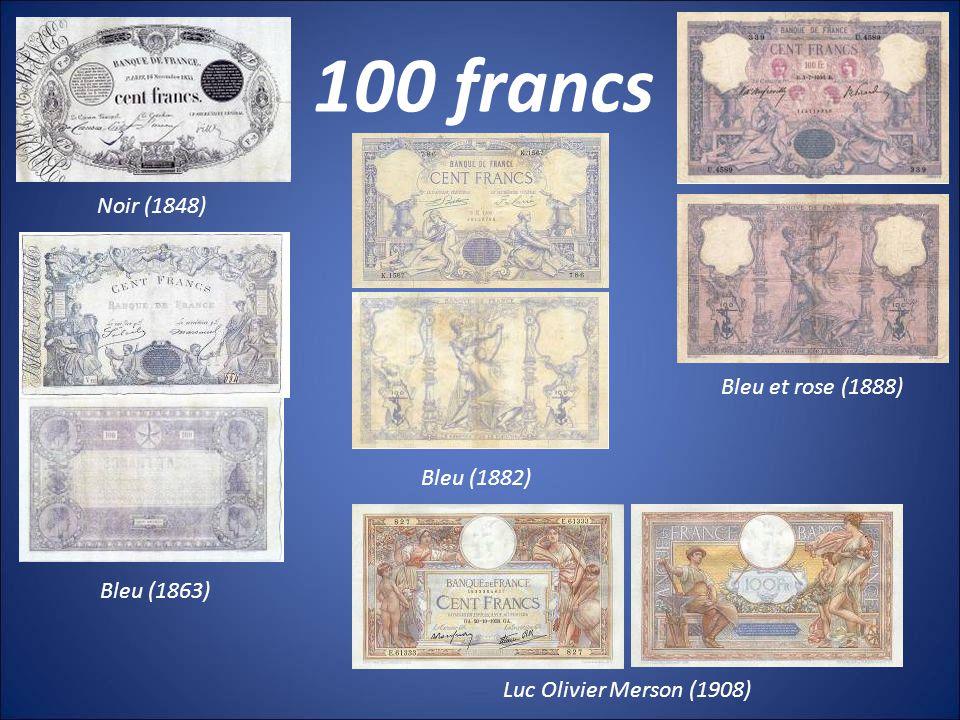 5000 francs Union française (1942) Terre et Mer (1949) Henri IV (1957)